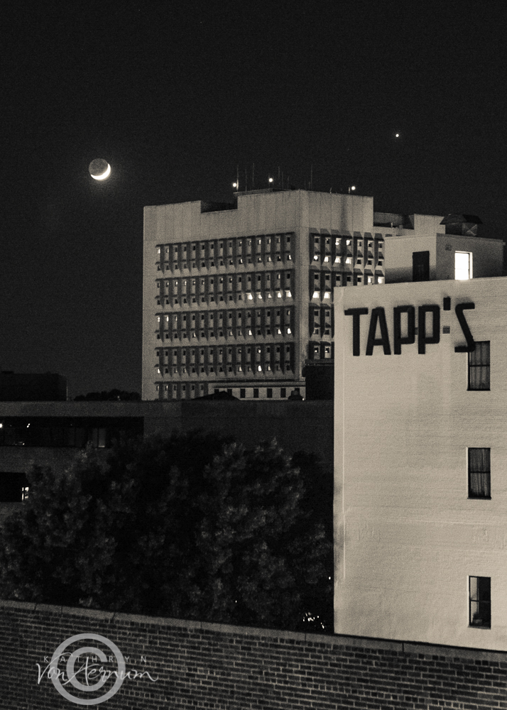 Moon over Tapps